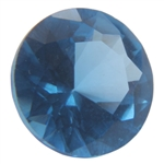 Lab Blue Spinel: Round 5mm - Pak of 2