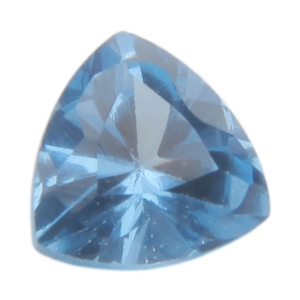 Lab Blue Spinel: Trillion 4x4mm - Pak of 2
