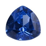 Lab Gemstone - Blue Spinel - Trillion