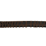Leather Cancun 10mm - Brown - 6""