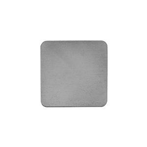 Sterling Silver Shape - Square - 1-1/4""