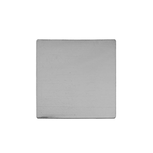 "Sterling Silver Shape - Square - 1-1/2"" Pkg - 1"