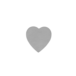 Sterling Silver Shape - Heart - 17.5x18mm