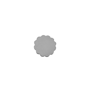 Sterling Silver Shape - Flower - 12mm