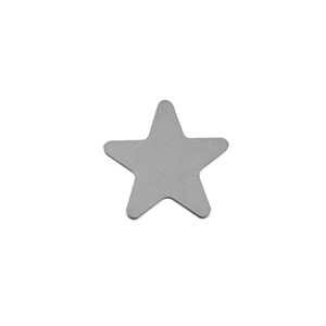 Sterling Silver Shape - Star - 20mm