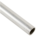 ".999 Fine Silver Seamless Tubing, Soft - 6.35mm OD - 4"" Length"