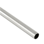 ".925 Sterling Silver Tube - 6.35mm (.250"") OD, 0.41mm (.016"") Wall"