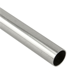 ".925 Sterling Silver Tube - 9.52mm (.375"") OD, 0.41mm (.016"") Wall"