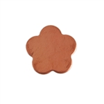 Copper Shape - Flower - 10.5mm Pkg - 10