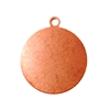 Copper Shape - Round Drop - 3/4""