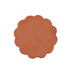Copper Shape - Flower - 16mm Pkg - 10