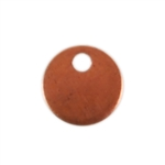 Copper Shape - Circle 24 gauge Pkg - 18