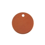 Copper Shape - Circle 24 gauge Pkg - 14