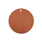 Copper Shape - Circle 24 gauge Pkg - 12
