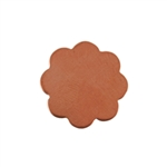 Copper Shape - Flower 24 gauge Pkg - 18