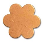 Copper Shape - Flower 24 gauge