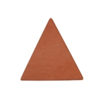 Copper Shape - Triangle - 9.5 x 10.5mm