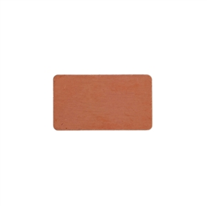 Copper Shape - Rectangle - 9 x 15mm