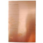 "Metal Sheet - Copper 26 gauge - 4"" x 6"""