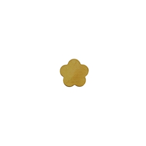 Brass Blank - Flower - 10.5mm