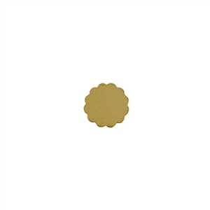 Brass Blank - Flower - 12mm Pkg - 10