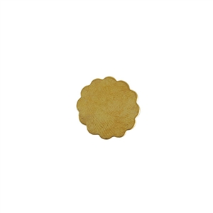 Brass Blank - Flower - 16mm