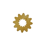 Brass Blank - Flower - 24.5mm Pkg - 10