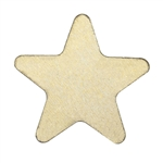 Brass Blank - Star - 12mm