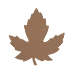Copper Shape - Maple Leaf - 29mm x 28mm  Pkg - 6