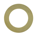 "Brass Blank - Large Ring - 1-3/8"" Pkg - 6"