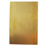 "Metal Sheet - Red Brass 24 gauge - 4"" x 6"""