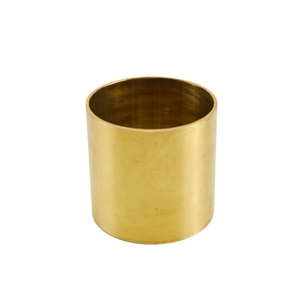 Metal Tube - Brass 15 gauge - 2""