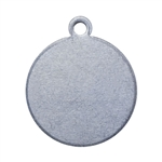 "Nickel Shape - Circle Pendant - 1/2"" Pkg - 6"