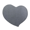 Nickel Shape - Swirly Heart - 3/4""