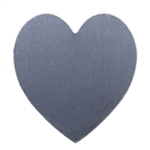 "Nickel Shape - Heart - 1-1/2"" Pkg - 2"
