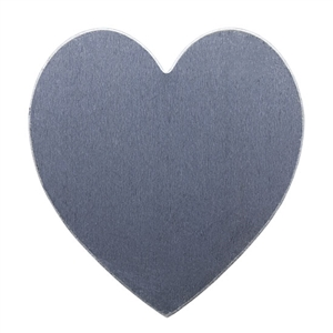 Nickel Shape - Heart - 1-1/2""
