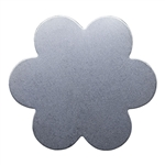 "Nickel Shape - Flower - 1-3/8"" Pkg - 2"