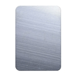 "Nickel Shape - Rectangle - 2x1-3/8"" Pkg - 1"