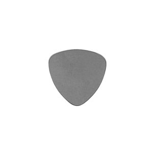 Nickel Shape - Guitar Pick - 7/8""