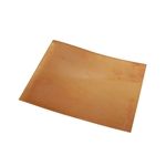 "Metal Sheet - Bronze 22 gauge - 4-1/2"" x 6"""