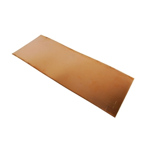 "Metal Sheet - Bronze 22 gauge - 4-1/2"" x 12"""