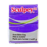 Sculpey III Polymer Clay - Purple 2 oz block