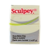Sculpey III Polymer Clay - Glow in the Dark 2 oz block