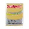 Sculpey III Polymer Clay - Jewelry Gold 2 oz block