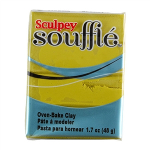 Sculpey Souffle Polymer Clay - Key Lime 2 oz block