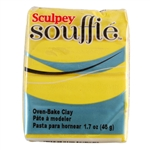 Sculpey Souffle Polymer Clay - Canary 2 oz block