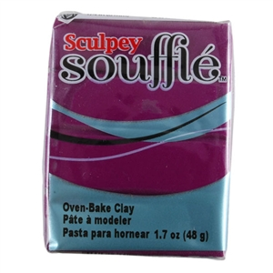 Sculpey Souffle Polymer Clay - Turnip 2 oz block