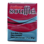 Sculpey Souffle Polymer Clay - Bordeaux 2 oz block