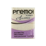 Premo Accent Sculpey Polymer Clay - Opal 2 oz block