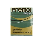 Premo Sculpey Polymer Clay - Jungle 2 oz Block